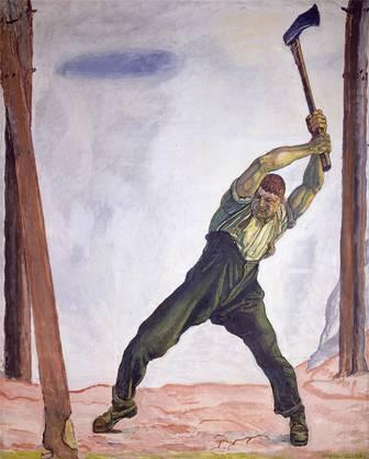 «Die Wahrheit» 1903, Öl auf Leinwand.