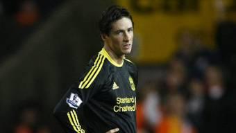 Fernando Torres konnte Liverpools Niederlage nicht verhindern