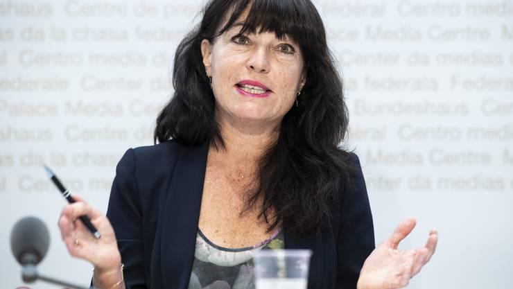 Géraldine Savary ist neue Präsidentin der Aids-Hilfe Schweiz.