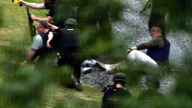 """""""Manhunt"""": Die Jagd auf den mutmasslichen Täter in Grossbritannien"""