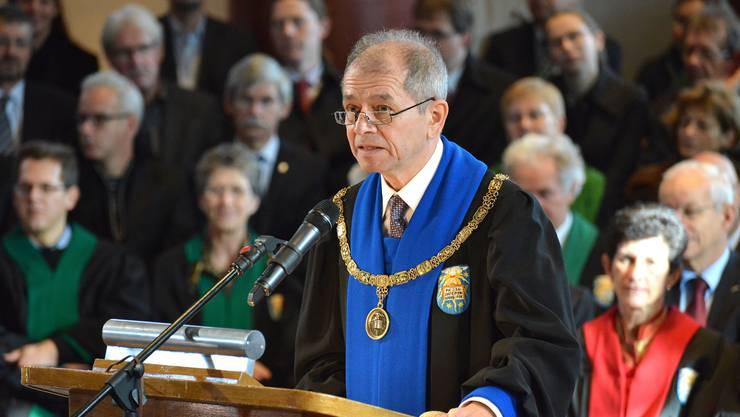 Antonio Loprieno am Dies Academicus.
