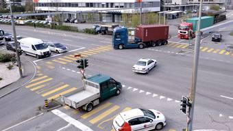 Die häufigsten Unfallorte auf den Kantons- und Gemeindestrassen im Baselbiet 2010 und 2011