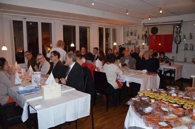 Die schöne Schützenstube im Restaurant Belvédère Baden