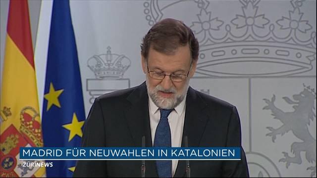 Neuwahlen statt Unabhängigkeit in Katalonien?
