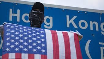 Als Reaktion auf die Unterstützung der Hongkonger Demokratiebewegung durch die USA  hat China Sanktionen gegen Washington verhängt. (Symbolbild)