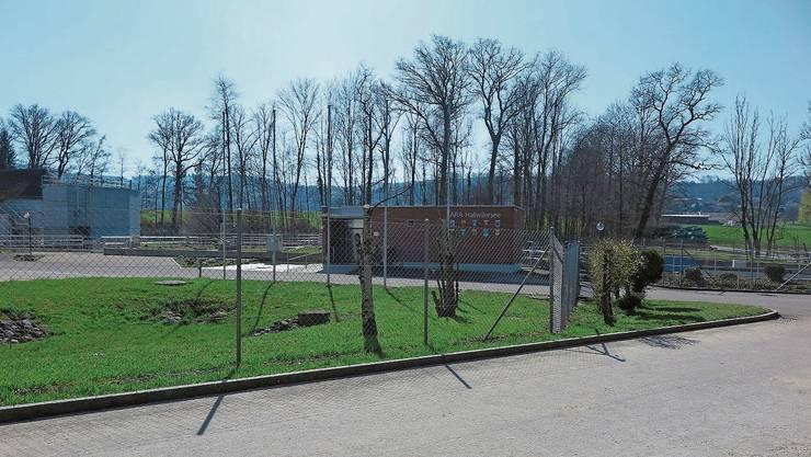 Die Kläranlage der ARA Hallwilersee steht seit 1964 im Schlatt in Seengen.