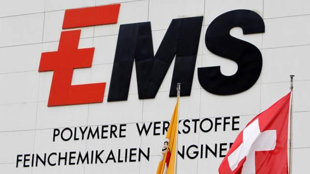 Der Umsatz der Ems-Gruppe wuchs 2013 um 7,4 Prozent (Archiv)