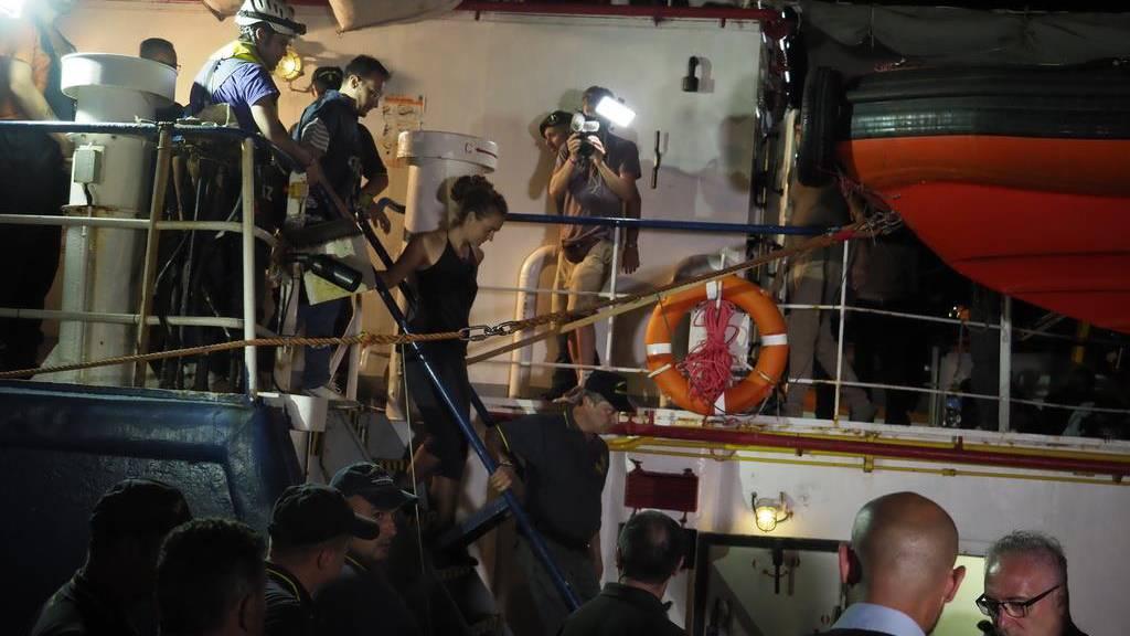 Jetzt nimmt Sea-Watch Stellung zur Verhaftung