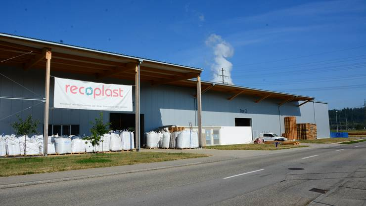 Die Recoplast AG ist seit zwei Jahren in Gretzenbach im Industriequartier zu Hause.