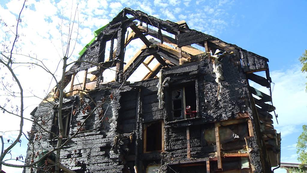 Steg im Tösstal: Brand richtet hohen Sachschaden an
