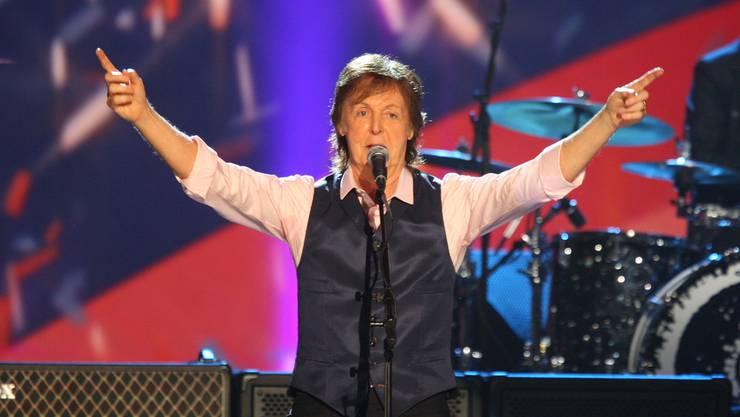 Neue Musik von Paul McCartney: Der Ex-Beatle veröffentlicht im September sein erstes Album nach fünf Jahren. (Archivbild)