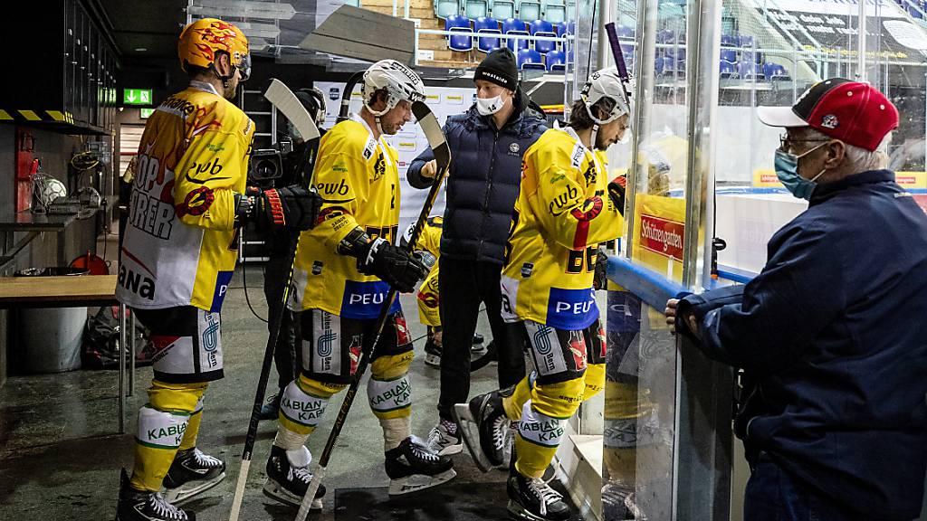 Bern verliert auch das Krisenduell gegen Rapperswil-Jona