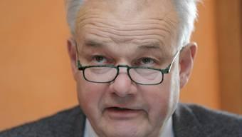 Hat sich entschuldigt: Finanzdirektor Christian Wanner (Archiv)