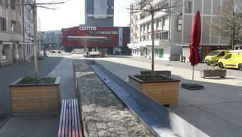 Leerer Marktplatz in der Coronakrise. (Archiv)
