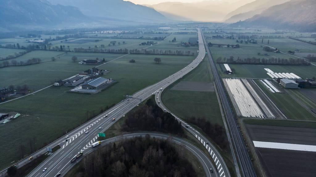 Auffahrunfall zwischen Sargans und Chur – Fahrbahn wieder frei