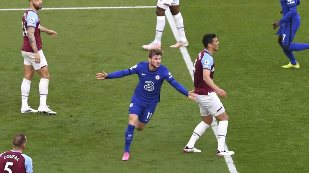 Ein seltener Auswärtstreffer von Timo Werner führt Chelsea in Richtung Königsklasse