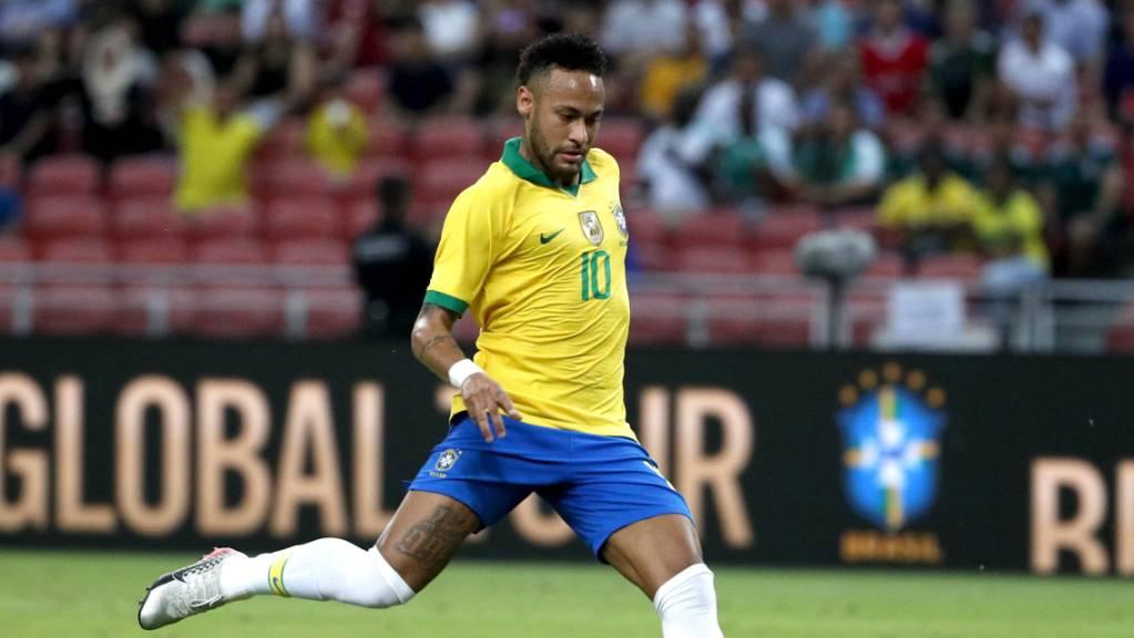 Mit Neymar ist ab sofort wieder zu rechnen