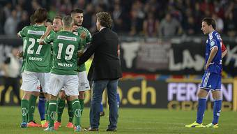 FC Basel gegen FC St. Gallen