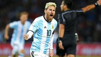 Rückkehrer Lionel Messi schiesst Argentinien zum Sieg in der WM-Qualifikation
