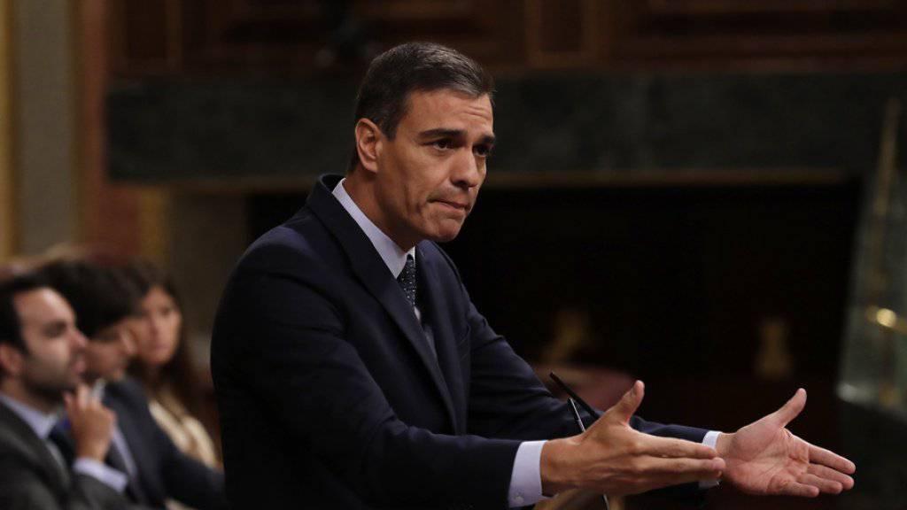 Pedro Sánchez scheitert bei erster Abstimmung über seine Wiederwahl