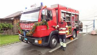 Feuerwehrauto Münchwilen