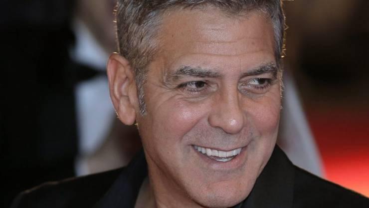 Selbst ist der Mann? Von wegen: George Clooney (Archiv)