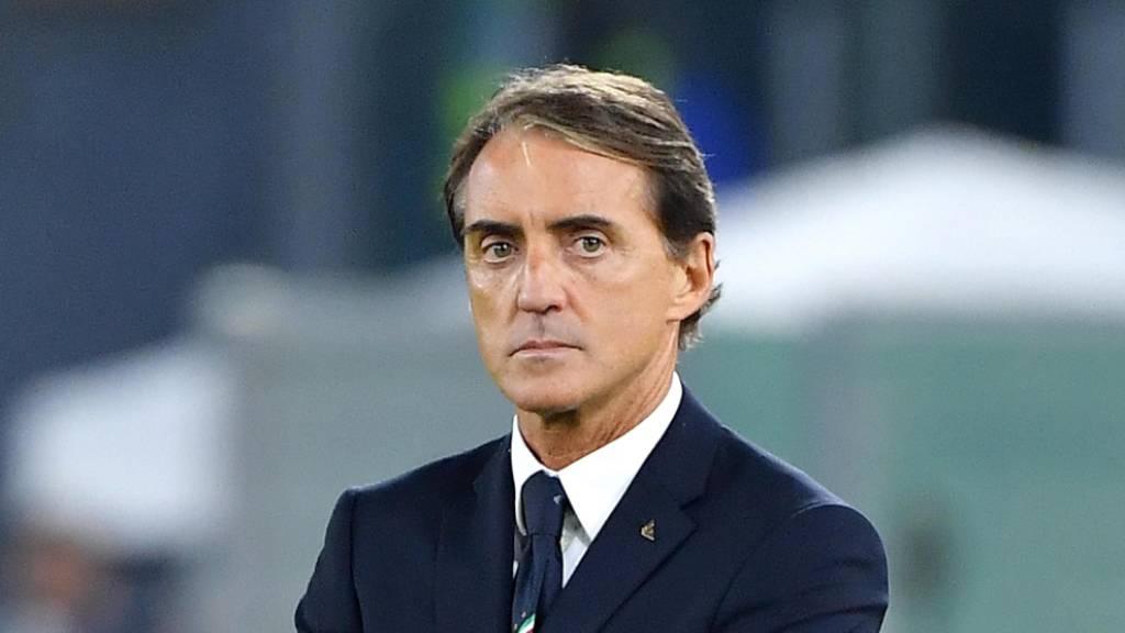 Italiens Nationaltrainer Mancini sieht Neustart skeptisch
