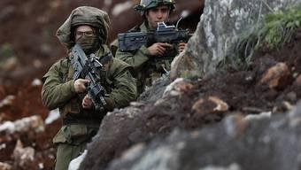 Israel verstärkt seine Verteidigungsmassnahmen an der Grenze zum Libanon. (Archivbild)