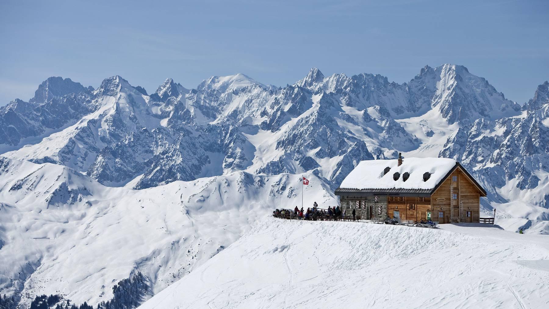 Das Wallis ist bei britischen Touristen vor allem als Destination von Skiferien sehr beliebt. (Symbolbild)