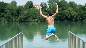 Das Strandbad in Rheinfelden: Hier ist das Wasser gemäss der Europäischen Umweltagentur zu schlecht zum Baden.