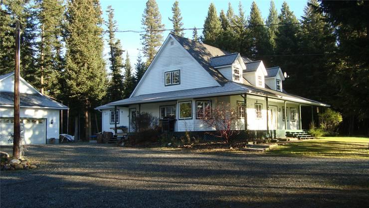 Das Zuhause der Familie Fischer im kleinen Weiler 150 Mile House in British Columbia.