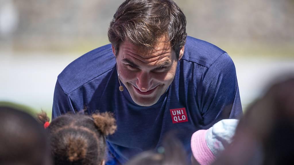 Eine Million Dollar von der Roger Federer Foundation