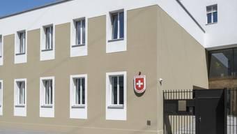 Die neue Schweizer Botschaft in Moskau: 700'000 Franken hat die Schweiz für ein rauschendes Einweihungsfest Mitte Juni aufgeworfen. 555'000 Franken davon haben private Unternehmen bezahlt - zum Beispiel auch ein russischer Oligarch. (Archivbild)