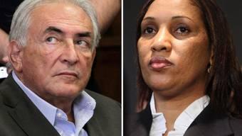 Dominique Strauss-Kahn (links) und Nafissatouo Diallo haben sich offenbar aussergerichtlich geeinigt (Archiv)
