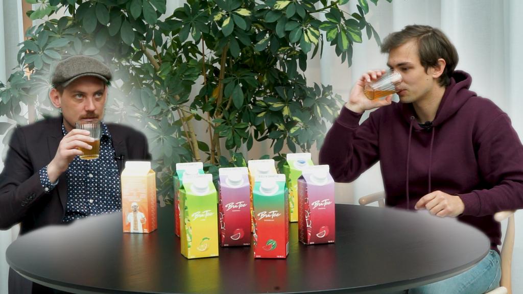 «Eistee muss Capi noch lernen» – Wir testen den Bra Tee