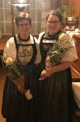 Cornelia Flury und Esther Schwegler