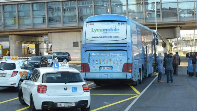 Carfahrer wehren sich gegen ausländische Mitbewerber. (Symbolbild)