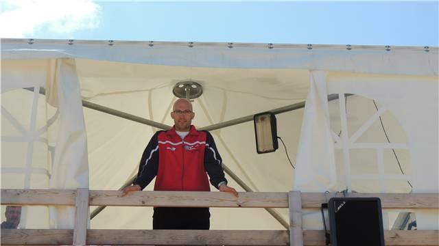 Der Vorhang fällt: Am Regionalturnfest in Messen führte Marc Ritz zum letzten Mal sportliche Regie.