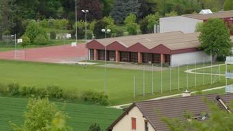 Die neue Sporthalle soll links neben die heutige Halle Brühl zu stehen kommen.