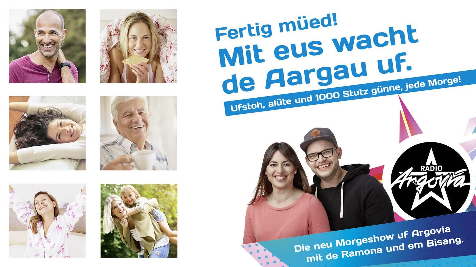 Argovia Morgenshow fertig müed!
