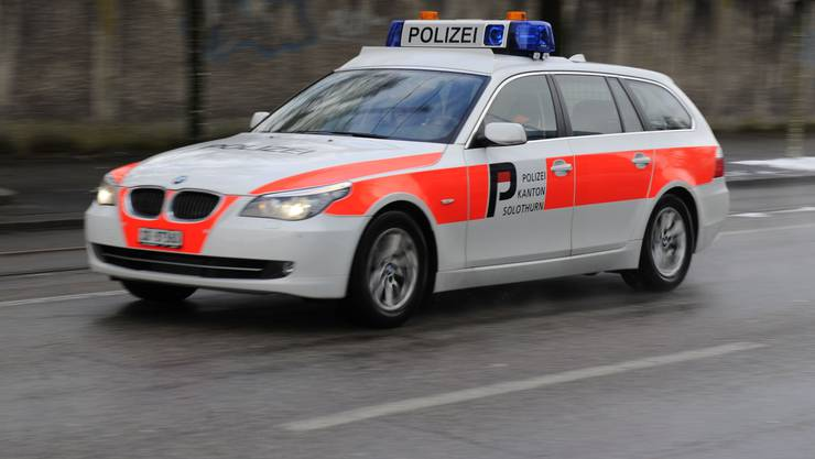 Die Stadtpolizei, mit der Kantonspolizei zusammen, macht Grenchen zu einer der sichersten Städte der Schweiz. (Symbolbild)