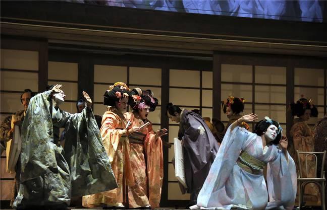 Zu den Highlights unter den Theaterproduktionen gehörte «Madama Butterfly» und ...