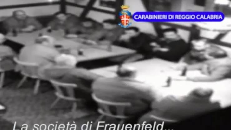 Bereits im vergangenen Jahr wurden in der Schweiz mehrere Mitglieder der 'Ndrangheta verhaftet. (Archivbild)
