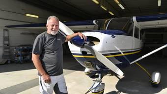 Paul Diener verleiht den Fliegern ein attraktives Outfit.
