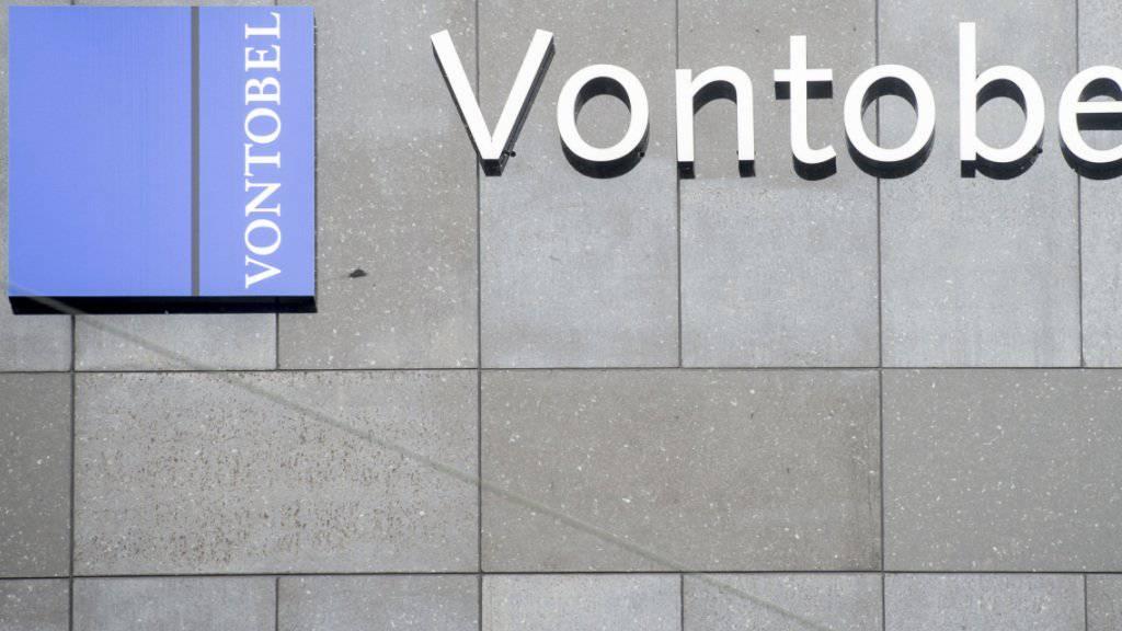 Schwieriges Halbjahr: Die Bank Vontobel konnte dennoch den Gewinn im ersten Halbjahr steigern. (Archivbild)