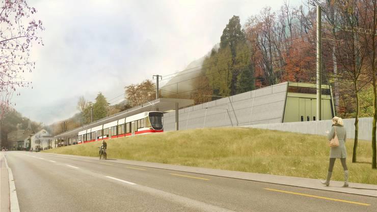 Die Waldenburgerbahn soll saniert werden.