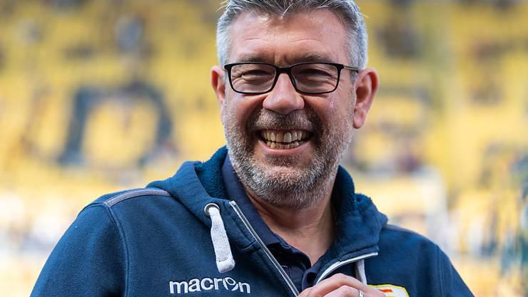 Urs Fischer fühlt sich in Berlin wohl und kämpft mit Union um den Aufstieg in die Bundesliga