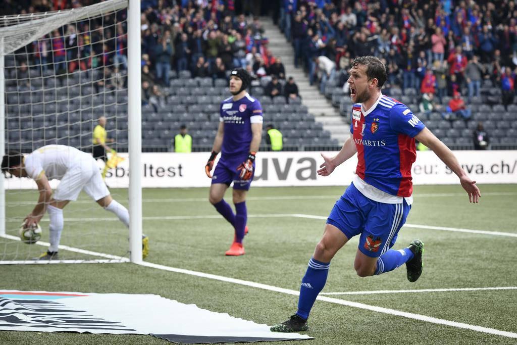 Cupfinale: Basel gegen Thun (© Keystone)