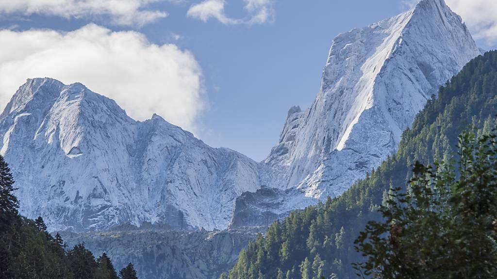 Zwei italienische Bergsteiger sterben am Pizzo Badile im Bergell