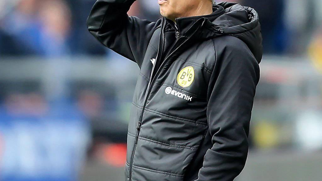 In der jüngeren Vergangenheit lief bei Dortmund nicht alles rund, aber das Vertrauen der Vereinsführung besitzt Lucien Favre weiterhin